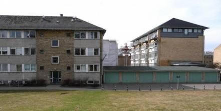 Kagshusene før renoveringen